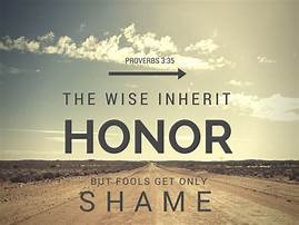 Honor and shame