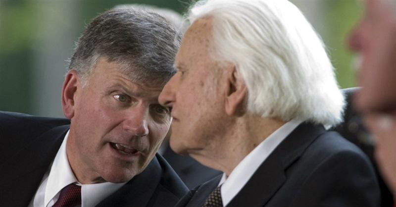 Boast.  Billy Graham