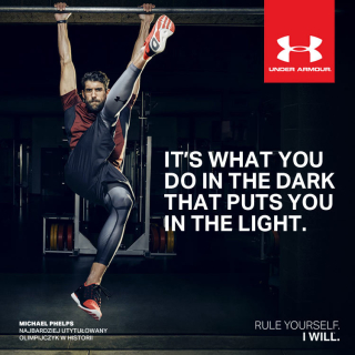 Michael phelps under armour
